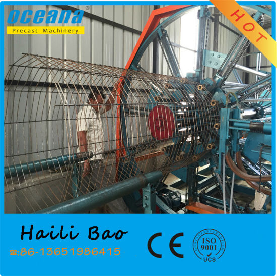 Full-Automatic Cage Welding Machine for Rcc Pipes pictures & photos