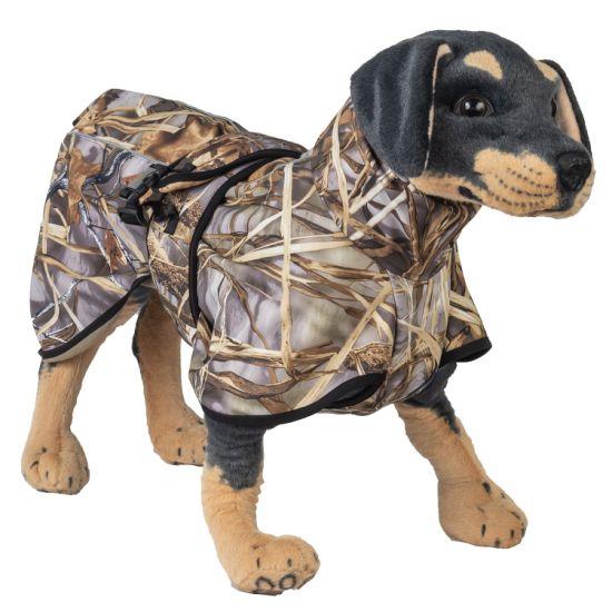 Dog Wear Waterproof Hunter Print Softshell Pet Jacket