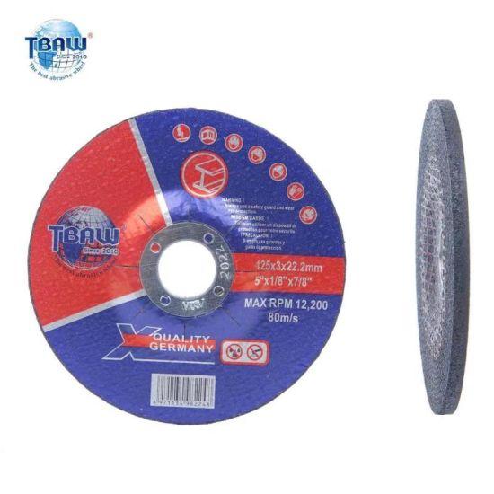 4 Inch 100X6mm OEM Metal Steel Depressed Abrasive Grinding Wheel