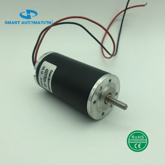 42mm Brush DC Motor Equivalent to Gr42 10W 15W 20W