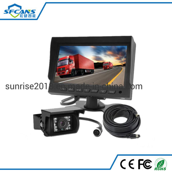 Heavy Duty Car LCD Monitor Rear View Reverse Parking Camera System