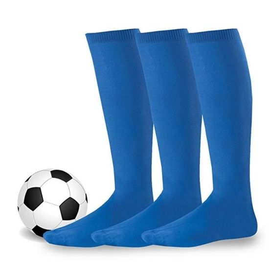 Adult Kids Sports Football Soccer Long Socks Over Knee High Sock Baseball Hockey