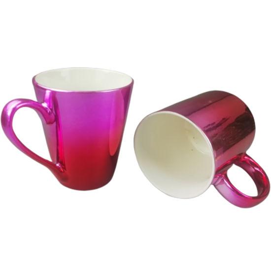 Factory Wholesale Cheap Pink Coating Mugs Custom Ceramic Gift Sublimation Coffee Mug