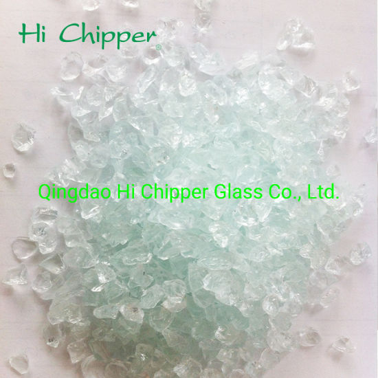 China 3 6mm Crushed Glass Broken Glass Glass Chips Recycled