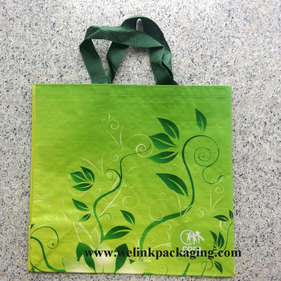 Cheap Price Printed Laminated Tote Shopping PP Woven Bag pictures & photos
