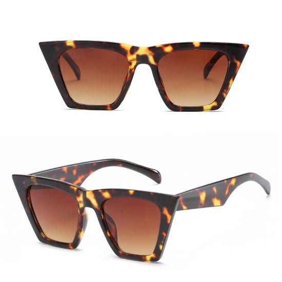 Plastic Cheap Custom Vintage Men Retro Women Luxury Wholesale New Brand Polarized Designer Fashion Sunglasses Cat Eye