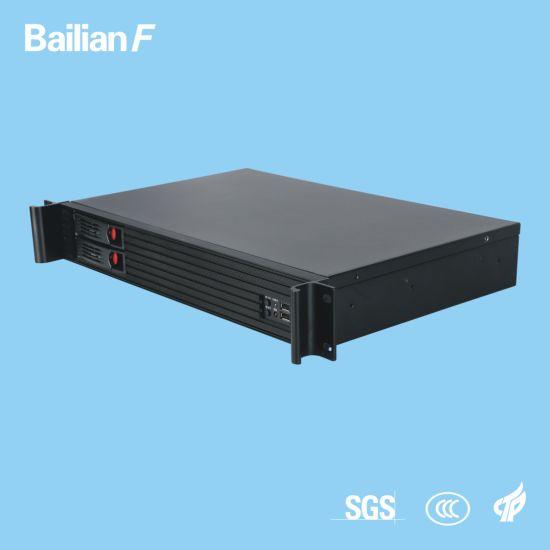 Chinese Manufacturer Bailian F Server 1.5u 2 Bays Rack Server 4G RAM Memory Media Streaming Server