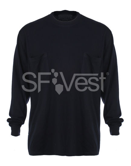 Flame Resistant Clothing with Fr Hoodie New Products Fireproof Cloth Flame Retardant T-Shirt pictures & photos