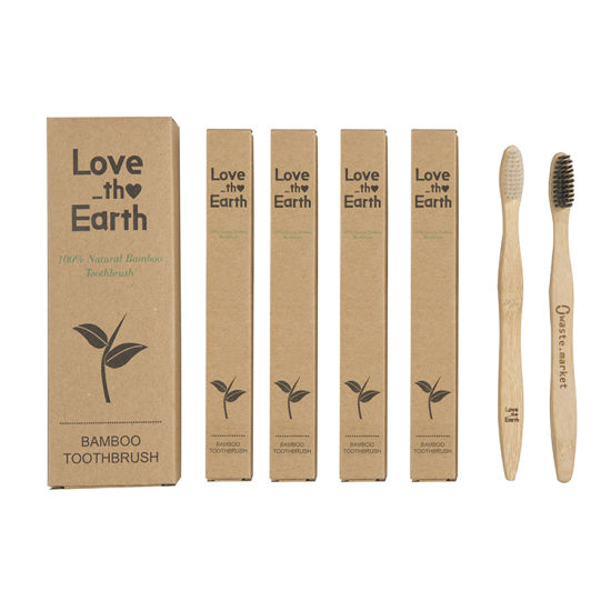 100% Biodegradable Bamboo Toothbrush Hotel Toothbrush