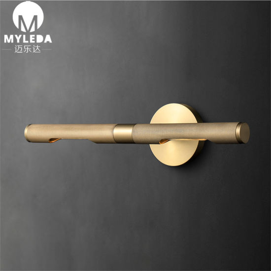 Europe Style Indoor Copper LED Wall Light