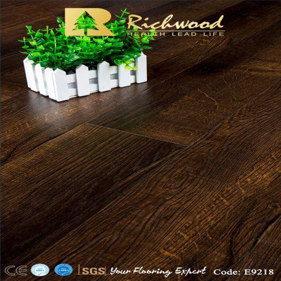 Embossed-in-Register AC4 E0 Parquet Wood Wooden Laminate Laminated Floor