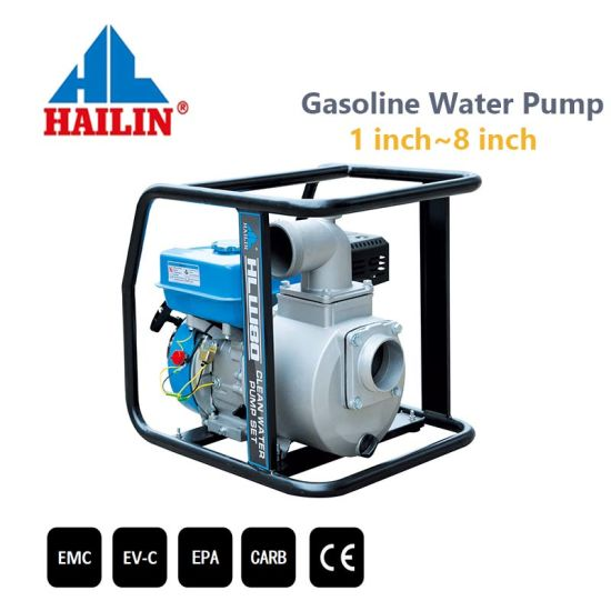 3 Inch 7HP Small Portable Gasoline/Petrol Fuel Electric Centrifugal Clean Water Pump