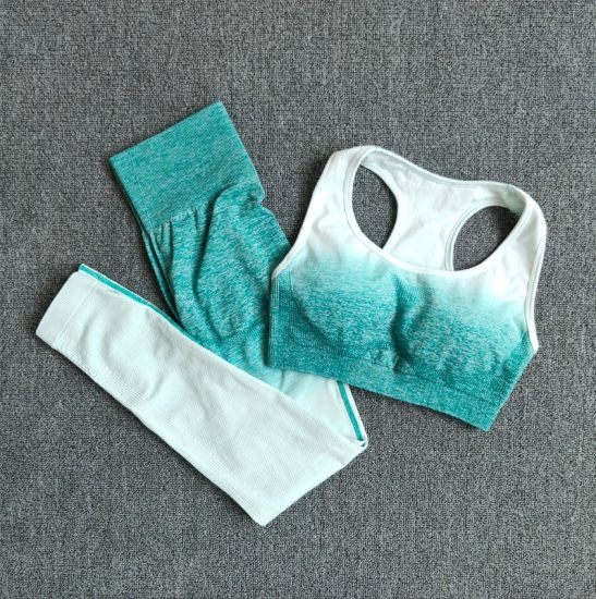 Wholesale Summer Women Sportwear Set Fitness Sport Bra and Pants Gym Yoga Clothes Body Fit Wear