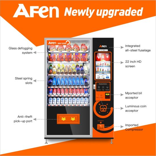 Afen 32 Inch LCD Advertising Screen Vending Machine