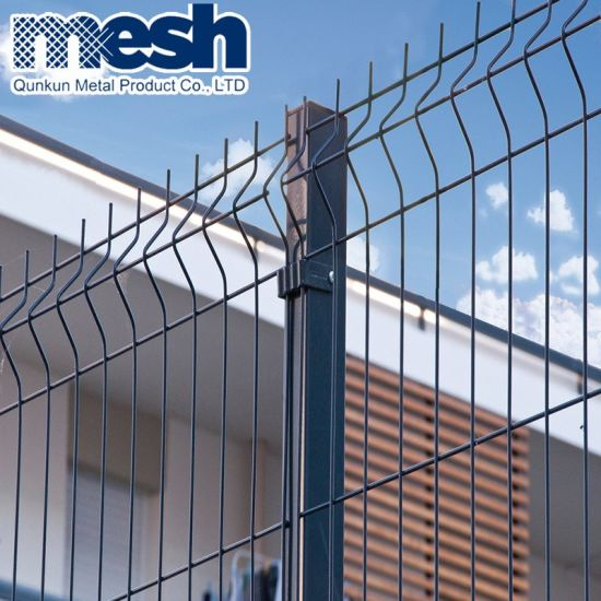 PVC Painted 3D Wire Mesh Fence Panel Material Wholesale on Sale