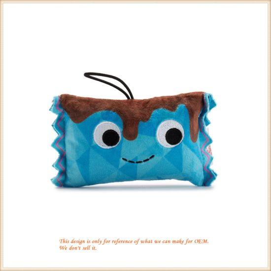 Plush Candy Bar Stuffed Key Chain Customized Plush Product