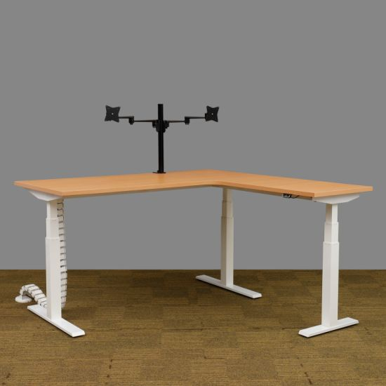 Modern Design Home Computer Gaming Table Height Adjustable Office Standing Desk