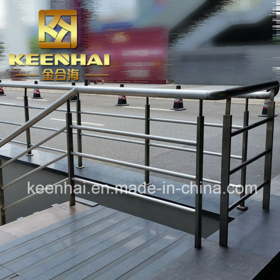 Outdoor Balcony/Stair Stainless Steel Railing In Modern Design
