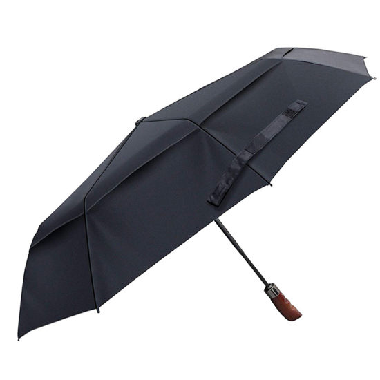 City Print Windproof Fiberglass Umbrella Auto Open /& Close Folding Umbrella