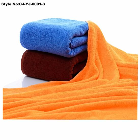 100% Cotton Soft Terry Cloth Personalized Beach Bath Towels