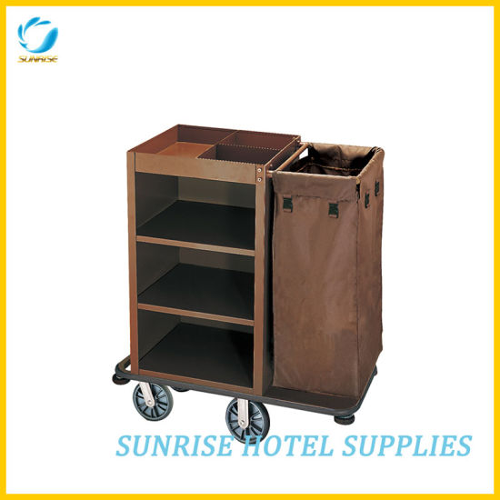 Hotel Housekeeping Maid Cart Housekeeping Trolley