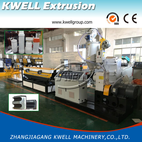 China Plastic Corrugated Pipe Machinery Manufacturers/Corrugated Pipe Production Line pictures & photos