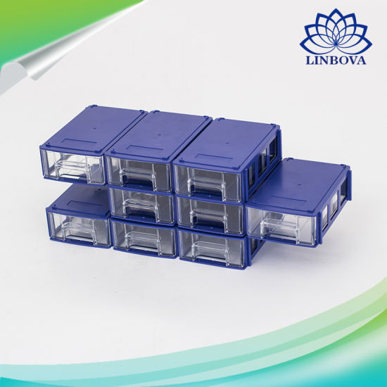 Plastic Storage Box Layer Mobile Phone Parts Drawers Storage Building Block Tools Drawer pictures & photos