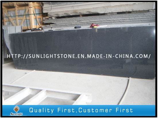 Padang Dark Flamed G654 Granite Stone Landscape Stairs for Paving pictures & photos