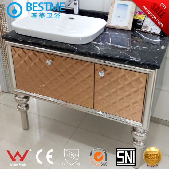 Good Quality Stainless Steel Bathroom Cabinet (BY-B6002) pictures & photos