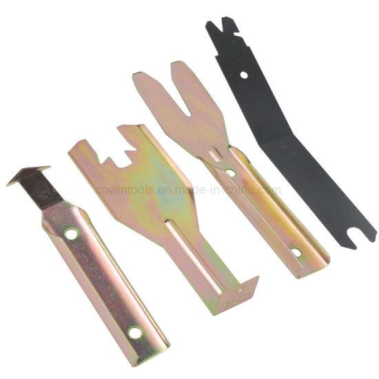 Windshield//Door Trim Tool Set 4 Pc Handle Spring Window Tool Panel Clip Removal