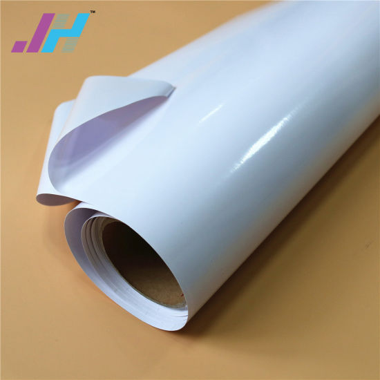 china uv ink printing promotional pvc glossy self adhesive vinyl