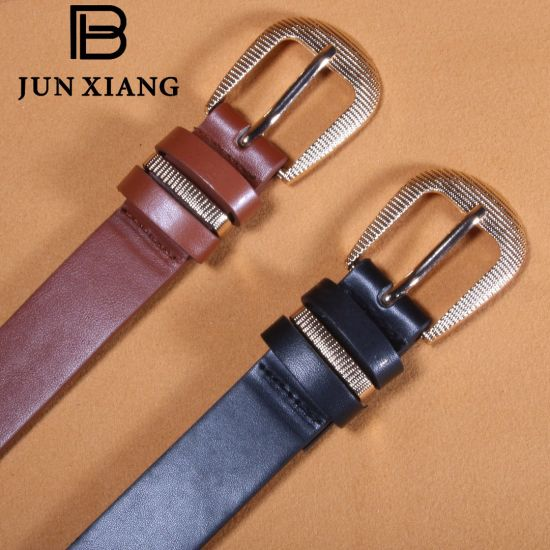 652086d22964d Women Fashion Ladies PU Buckle Belt with Triple Loops pictures & photos