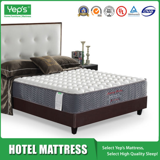 High End Memory Foam Mattress for Star Hotel Projects