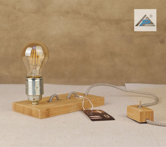 Bamboo Play Table Lamp with Bamboo Switch (C5007393)