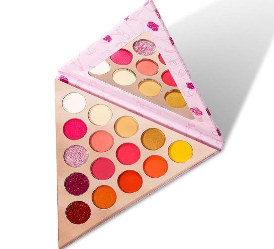 15 Color Custom Eye Shadow Triangle Pigment Eyeshadow Palette