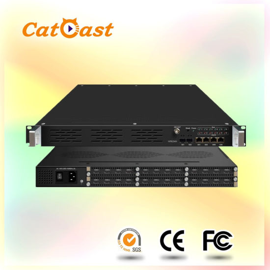 China 24 in 1 H  264 IPTV Video HDMI Encoder with IP Output