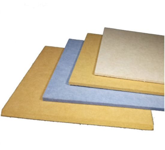9mm Featured Polyester Fiber (PET) Fire Rated Acoustic Panel / Ceiling Panel