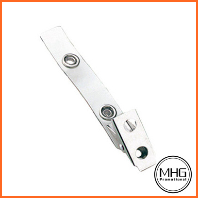 Strap Clip with 2-Hole Nickel Plated Steel Clip