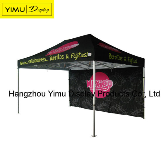 3X3, 3X6, 4X8m Aluminum Frame Folding Tent for Exhibition Tent