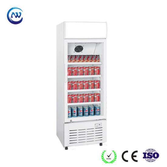 Single Door Refrigerated Merchandiser/Drink Fridge/Beverage Chiller (LG-268)