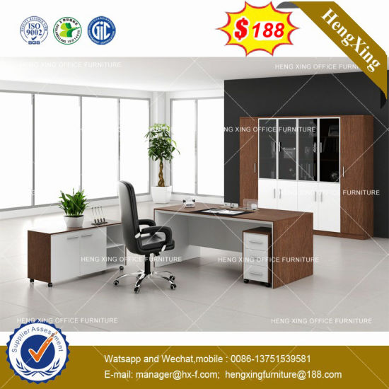 Indian Market Home Use Dark Grey Color Office Executive Table Hx 8ne027