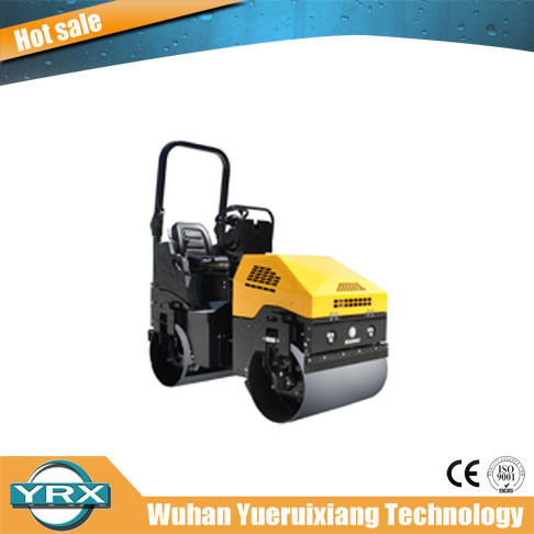 2018 Hot Selling 1700kg Double Drum Hydraulic Ride-on Vibratory Roller pictures & photos