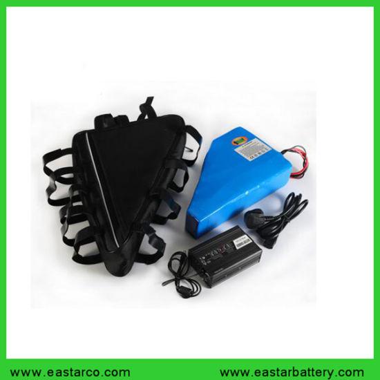 Rechargeable 48V / 52V 20ah E-Bike Battery Pack Triangle Shape Lithium Ion Ebike Battery