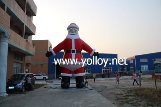 Huge Inflatable Santa Claus for Christmas Decoration pictures & photos