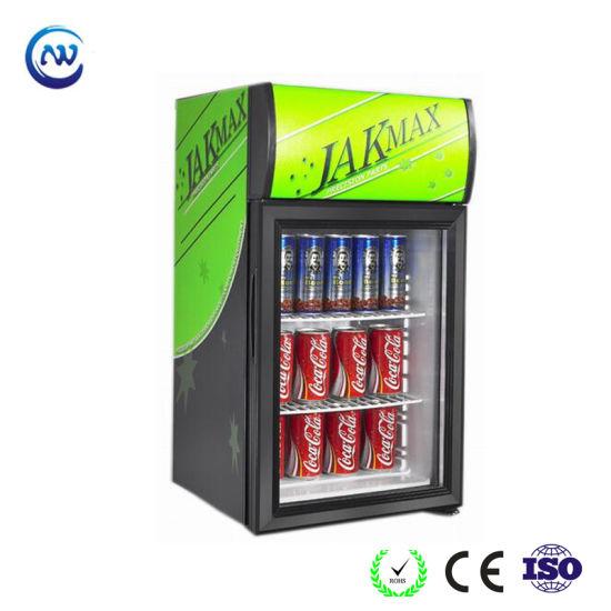 Mini Soft Drink Chiller Small Beer Beverage Display Cooler (JGA-SC42)