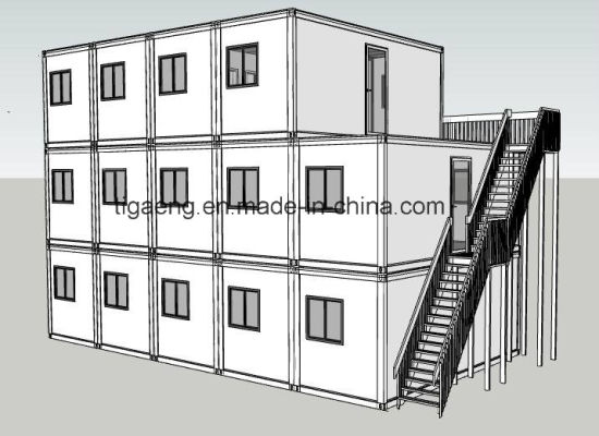Prefab Flat Pack 20 Feet 40 Feet Container House pictures & photos