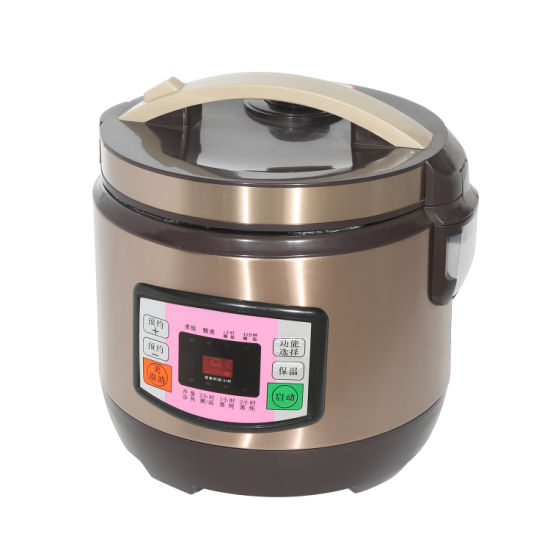 Electric Rice Cooker Intelligent Home Heating Alloy Cast Iron Kitchenware Multifunction Pressure Cooker