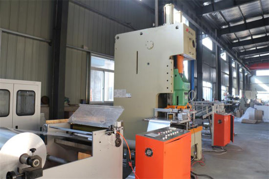 Aluminum Tray Making Machine (110T) pictures & photos