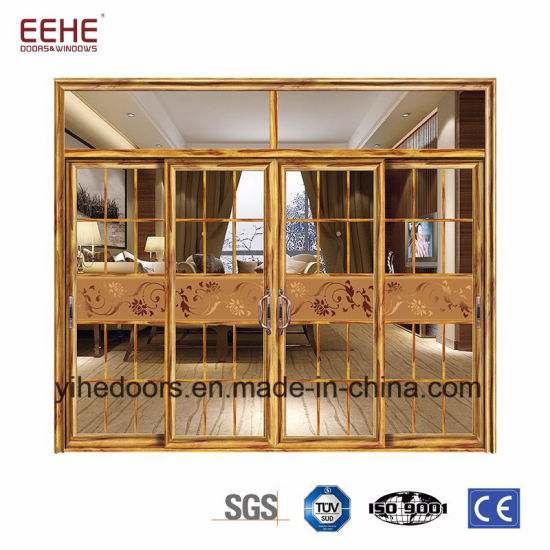 China Entry Door Type Aluminium Glass Sliding Door Good Price ...