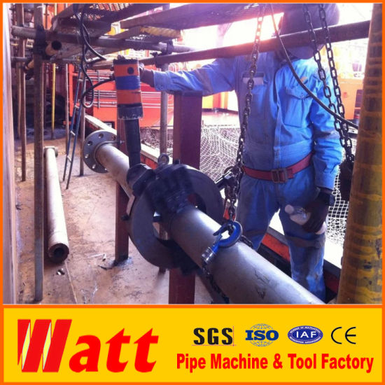China Split Frame Pipe Cutting and Beveling Machine L8 Used